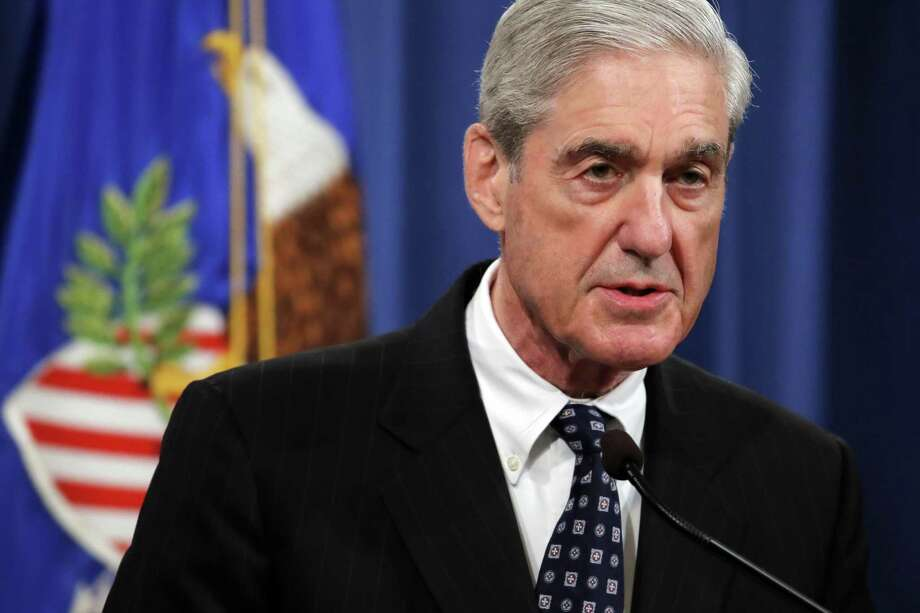 Special counsel Robert Mueller speaks at the Department of Justice Wednesday. His press conference was ill-advised. Photo: Carolyn Kaster /Associated Press / Copyright 2019 The Associated Press. All rights reserved.