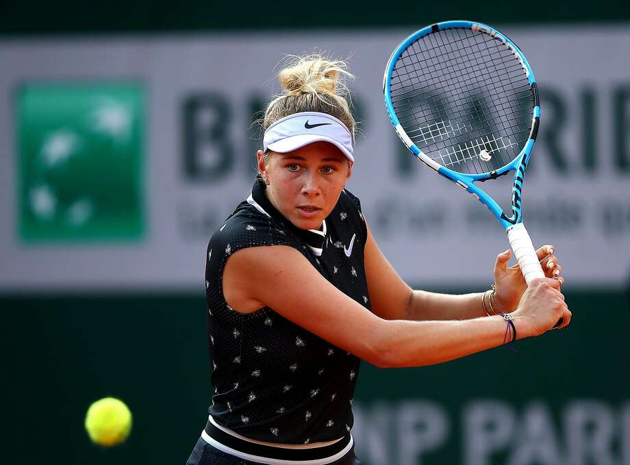 American teen Amanda Anisimova out of US Open after father's death