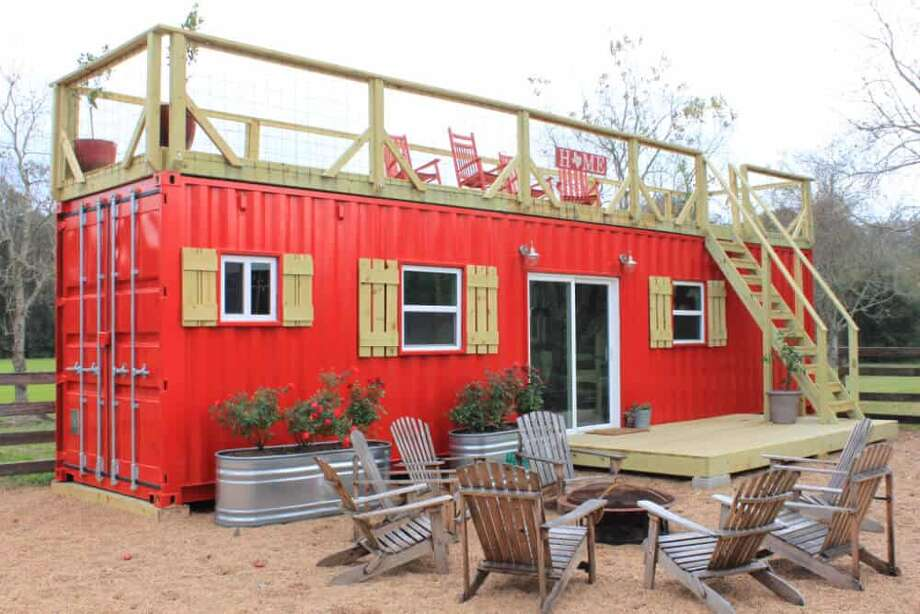 Price: $40,000-$100,000   Backcountry Containers builds custom homes out of a combination of stacked and adjoined 20 and 40-foot shipping containers.  Each container home is unique and designed for the homeowner's land and vision. First, the company makes sure the shipping containers are water and wind tight, and then insulates them.  Backcountry Container homes are entirely customizable. One even has a putting green! Builders can also include decks, screened in porches, multiple bedrooms, offices, large entertaining areas, workshops and storage areas.   Former aeronautical engineer Jon Meier founded Backcountry Containers after designing his very first bright blue container home.  If you want to order a custom container home, Backcountry Containers will deliver it to your property in 6-10 weeks.  For more info, head to Backcountry Containers.  Photo: Backcountry Containers