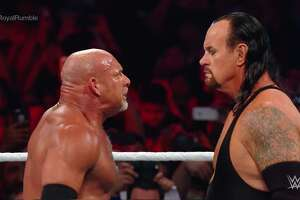Ahead of their first-ever match against each other next Sunday at Super ShowDown in Saudi Arabia, WWE legends Goldberg and the Undertaker are both scheduled to appear in Laredo on Tuesday for WWE's SmackDown LIVE.