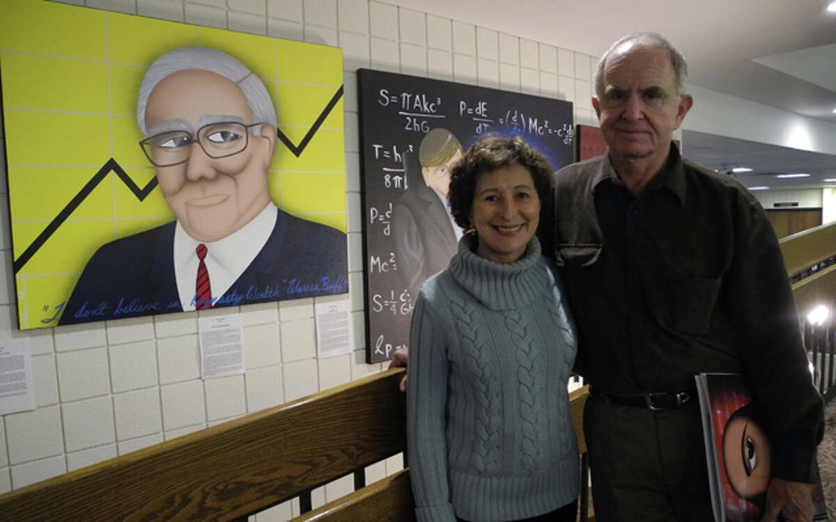 Jane and Dick Resnick have shared The Great Minds Collection with the Trumbull Library. file photo- Kate Czaplinski photo