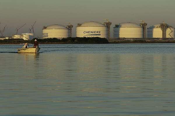 Cheniere's Sabine Pass LNG terminal Nov. 15, 2016, in Sabine Pass. ( James Nielsen / Houston Chronicle )