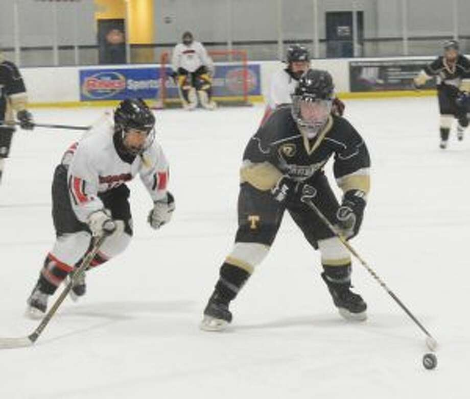 Erin Owens scored four goals for Trumbull-St. Joseph. — Andy Hutchison photo