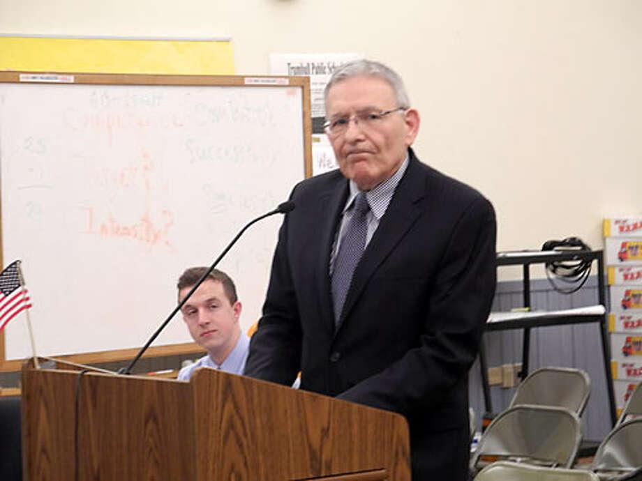 Superintendent Gary Cialfi