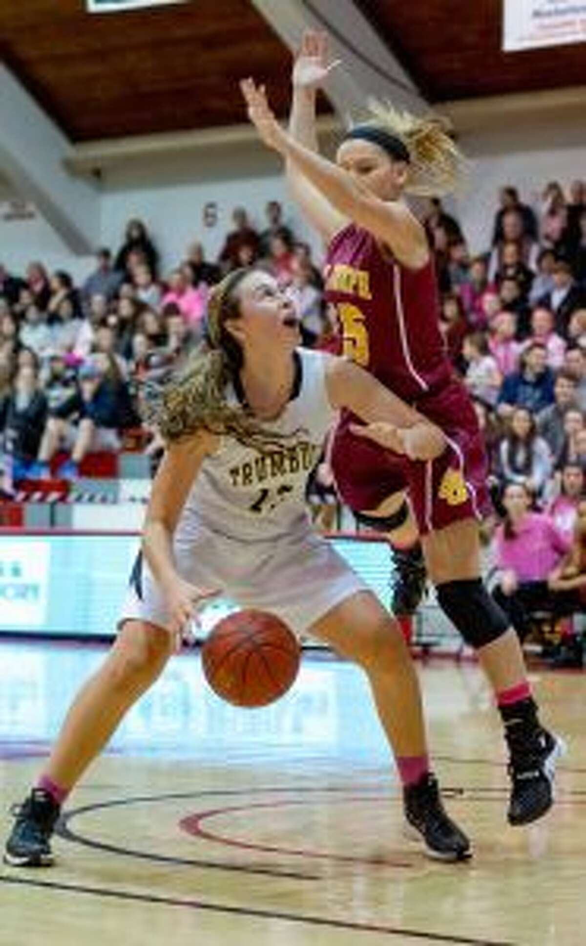Claudia Tucci scored 1,008 points playing for the Lady Eagles.