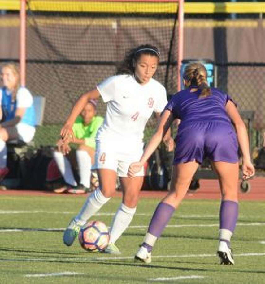 Jessica Mazo had two assists in St. Joseph's 2-0 win over Westhill. — Andy Hutchison photo