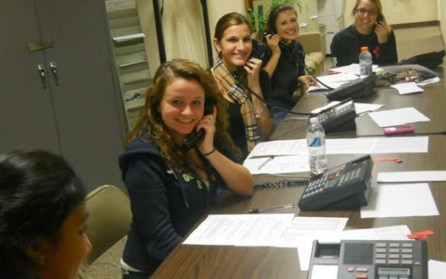 Members of the Trumbull High choirs will be making fundraising calls for the next week.