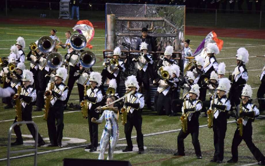 The Trumbull High School Golden Eagle Marching Band will host its annual Fall Class, the only home competition of the season, this Saturday. — Submitted photo