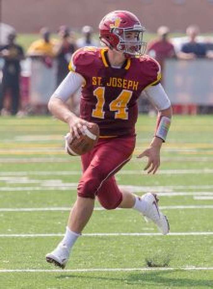 Cory Babineau threw five touchdown passes for St. Joseph.