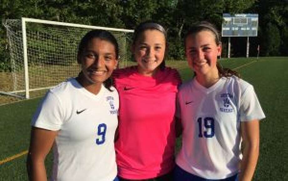 Ranita Muriel, Soph Luft, and Bella Christian led CHS to victory.