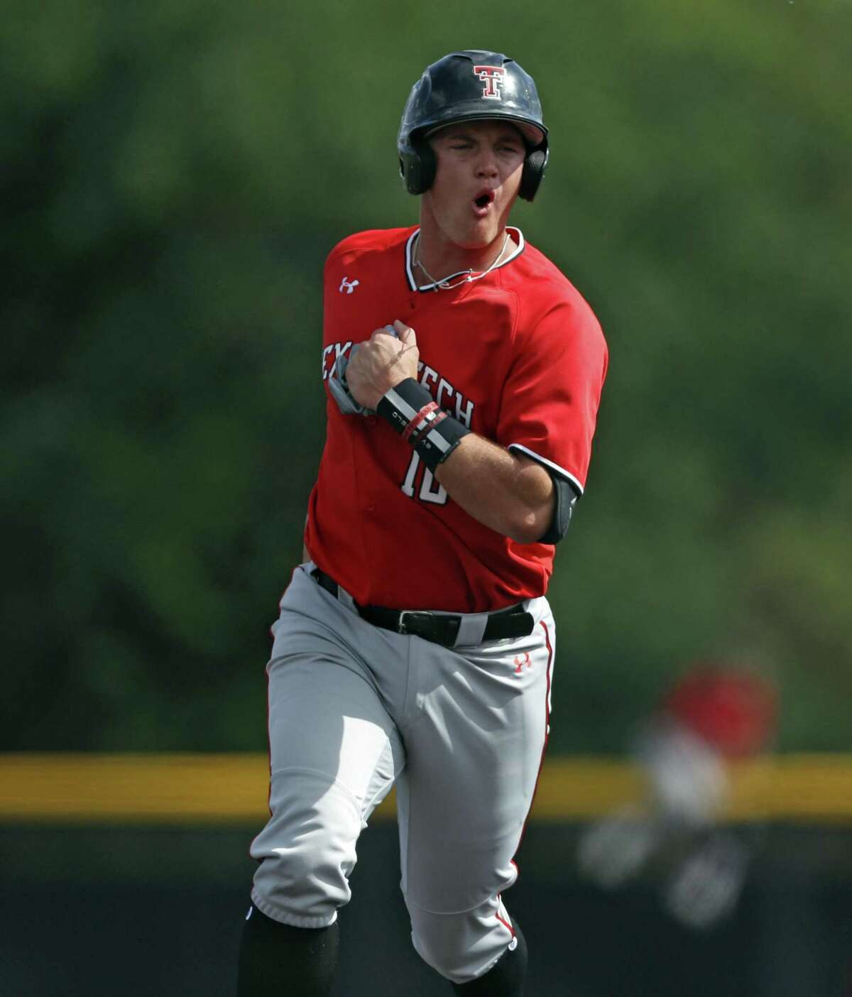 Texas Tech junior and MacArthur graduate Josh Jung was drafted as a third baseman, but he has played the last 26 games at shortstop.
