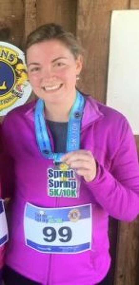 Carolyn Shea has run in 40 towns in her quest to reach 100.