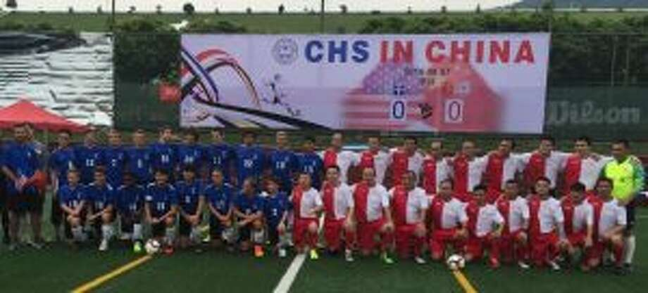 Eighteen Christian Heritage School athletes and five coaches and faculty-chaperones departed Aug. 5 for an eight-day, three-city, cross-cultural journey through China.