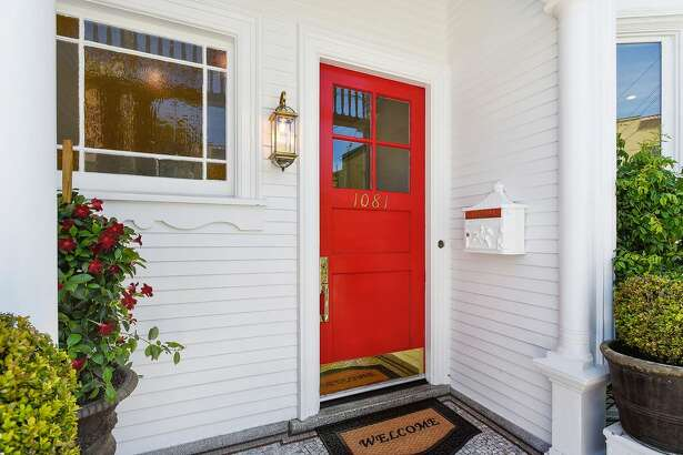 This three-bedroom, three-bathroom Noe Valley home with classic Victorian architecture and light-filled interiors is located at 1081 Church St., only one block from 24th Street.