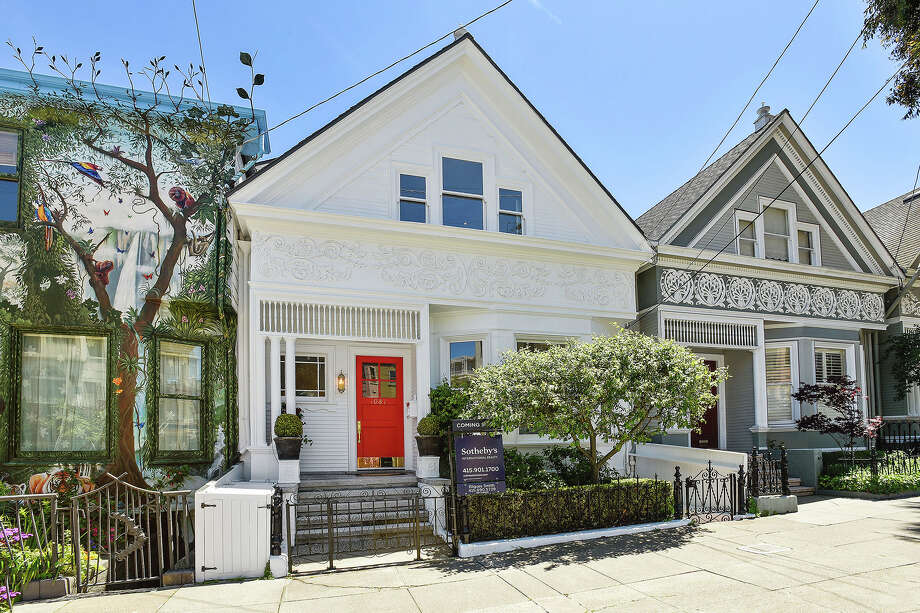 This three-bedroom, three-bathroom Noe Valley home with classic Victorian architecture and light-filled interiors is located at 1081 Church St., only one block from 24th Street. Photo: Open Homes Photography