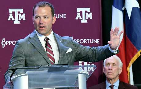New Texas A&M athletic director Ross Bjork said he wants to takes advantage of the passion Aggies have for their school and their sports teams.