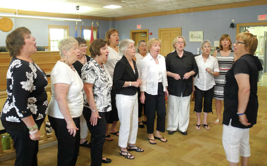Harmony on the Sound performs in Trumbull two summers ago.