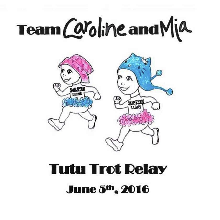 The Tutu Trot Relay is a special event being held at Trumbull High School at 4:30 p.m. Sunday, June 5, to benefit and support Mia and Caroline, a pair of Jane Ryan Elementary School classmates who have both been battling pediatric cancer together this year.