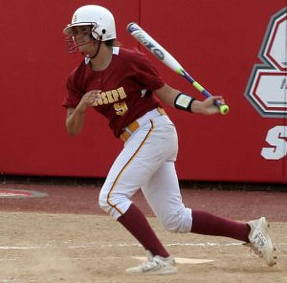 Kayla Giacobbe doubled home two runs in the Cadets' four-run fifth-inning rally.