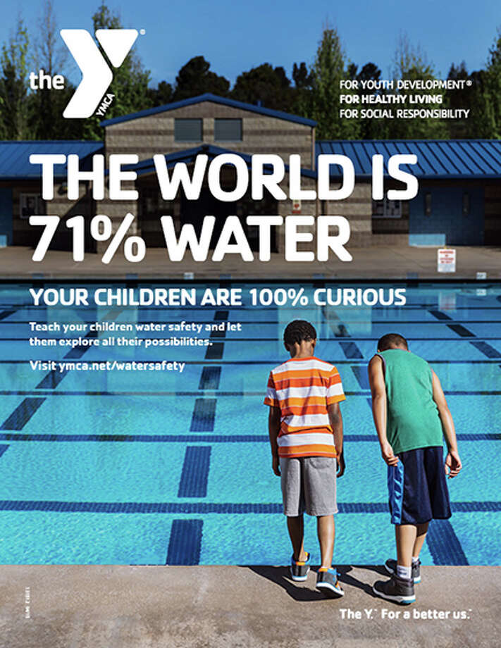 YMCA is promoting a Safety Around Water campaign.