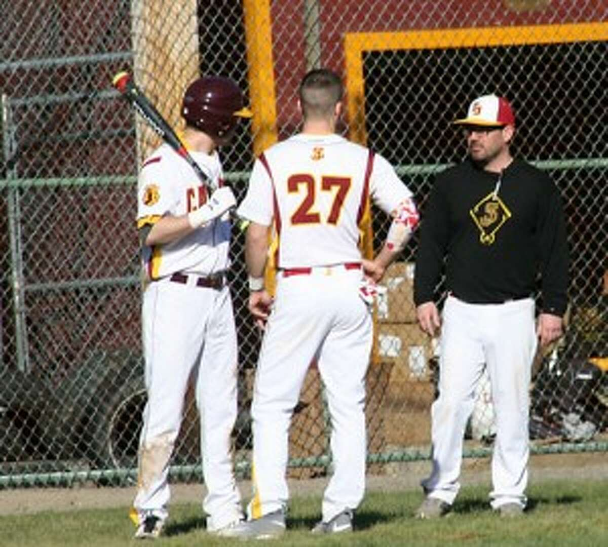 Coach Jim Chaves' Cadets had 13 hits in their opener.