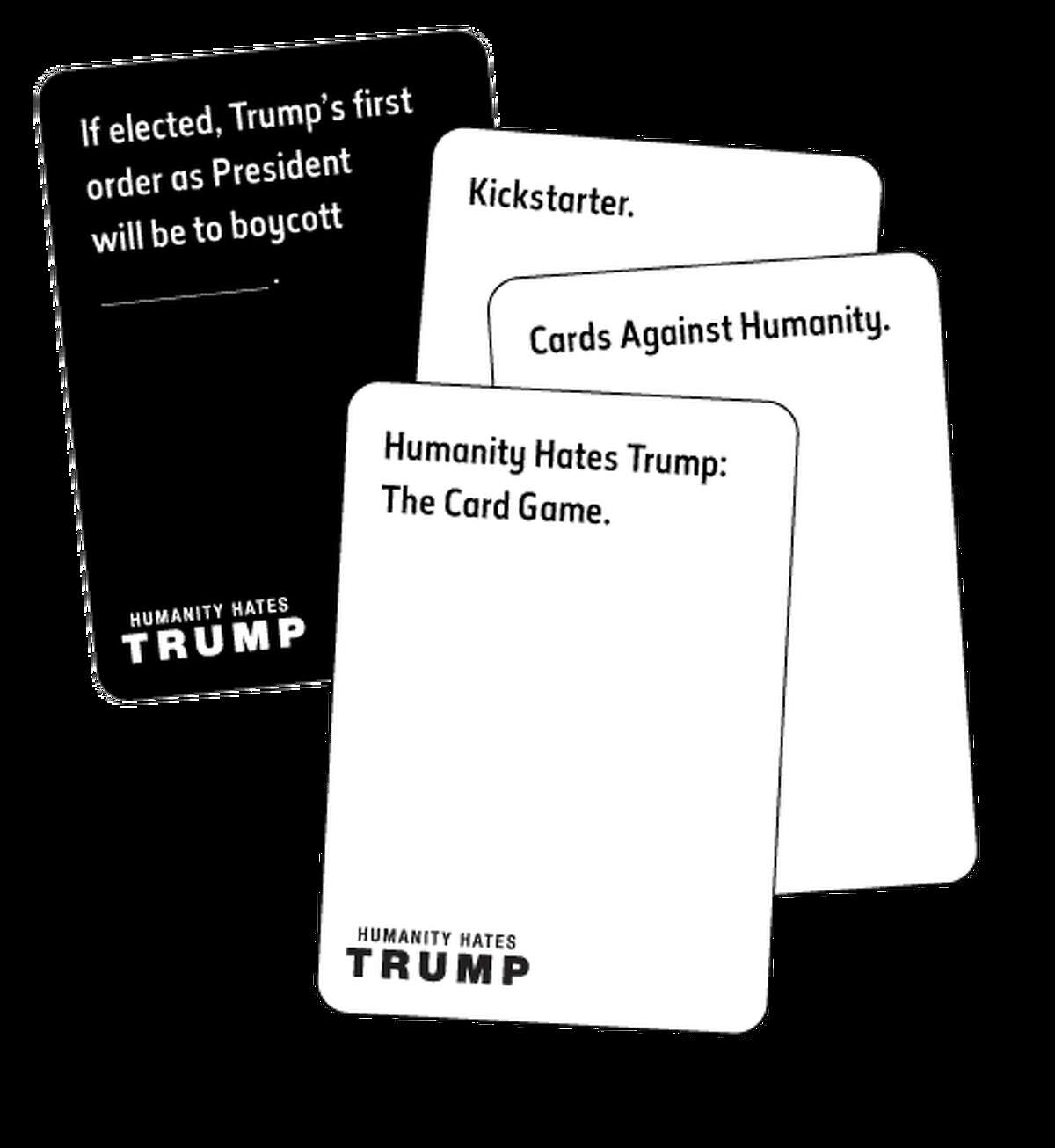 Humanity Hates Trump is back in the news Wednesday - this time to declare a new Kickstarter website.