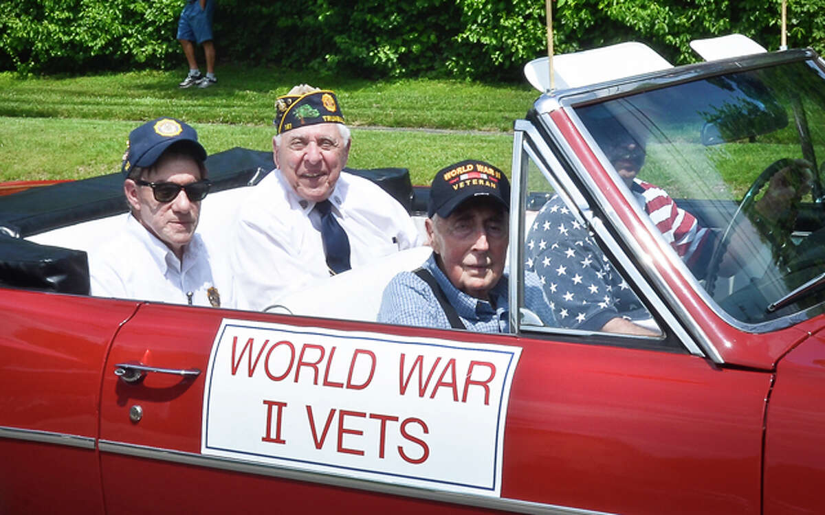 A file photo from the 2011 Memorial Day Parade.