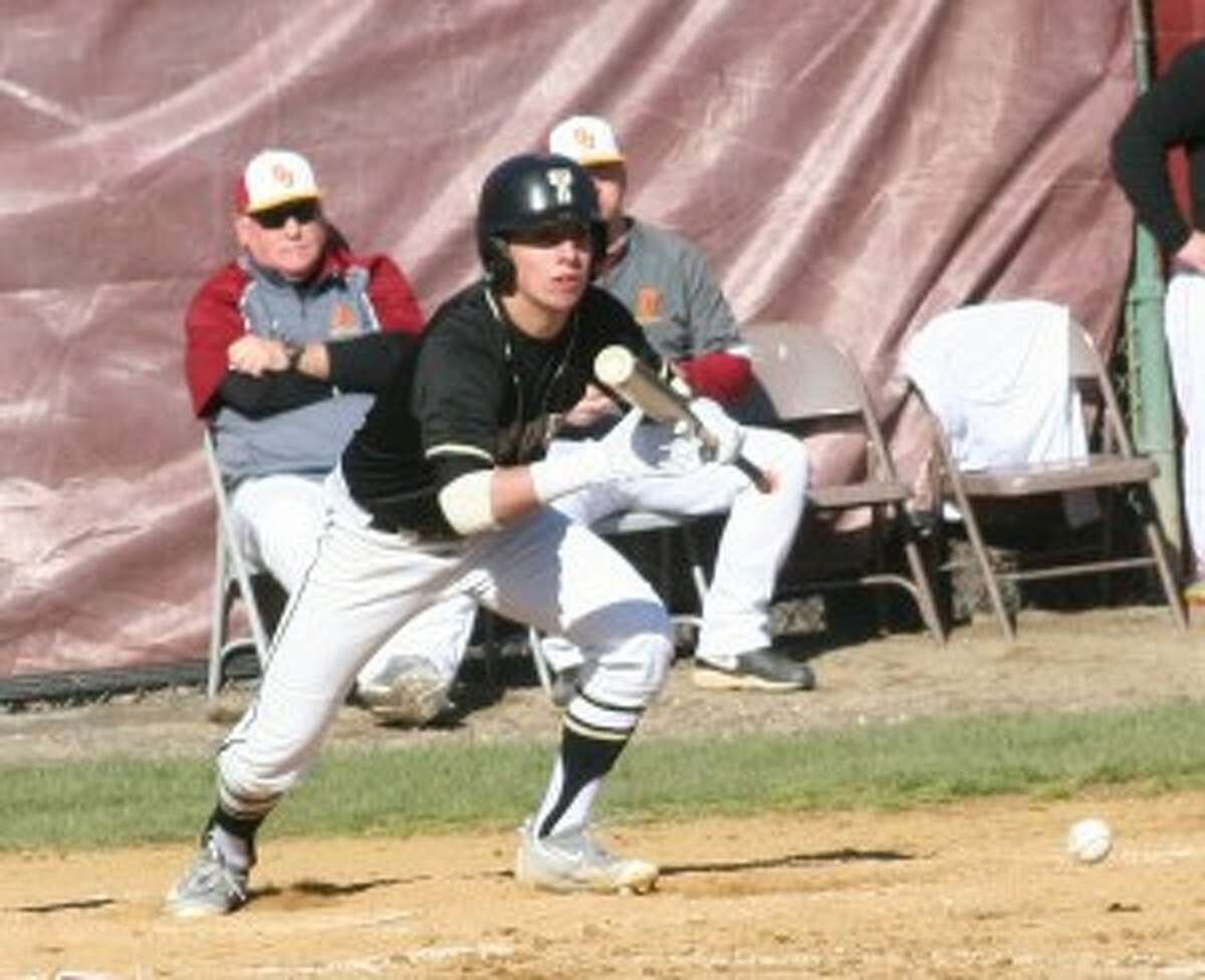 Trumbull's Dustin Siqueira had two hits and scored a run.