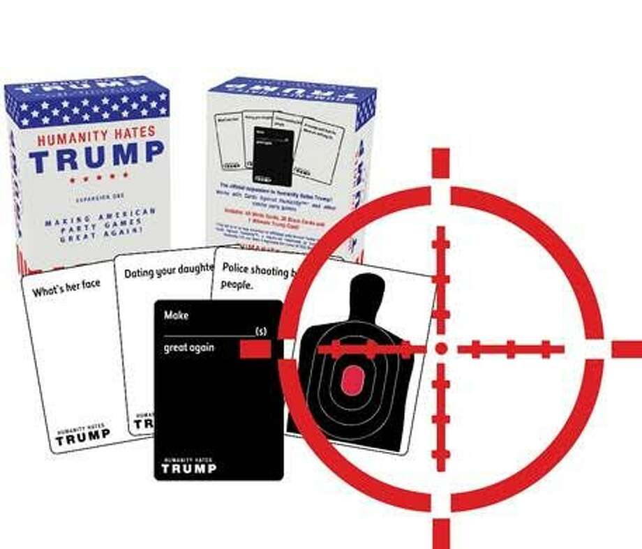 Humanity Hates Trump, a card game created by a local company, has become the point of controversary. And it's not with Donald Trump himself.