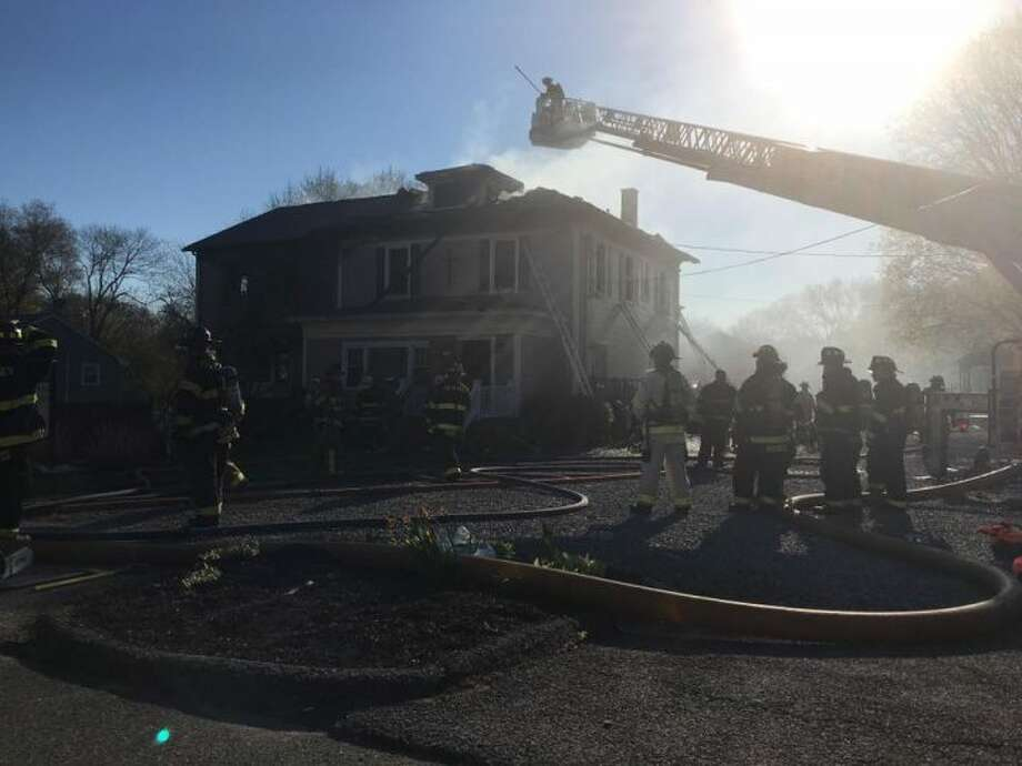 Trumbull fire crews responded to a significant blaze at 175 White Plains Road Sunday afternoon.