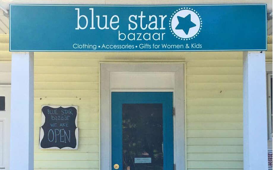 Blue Star Bazaar's storefront in Wilton.