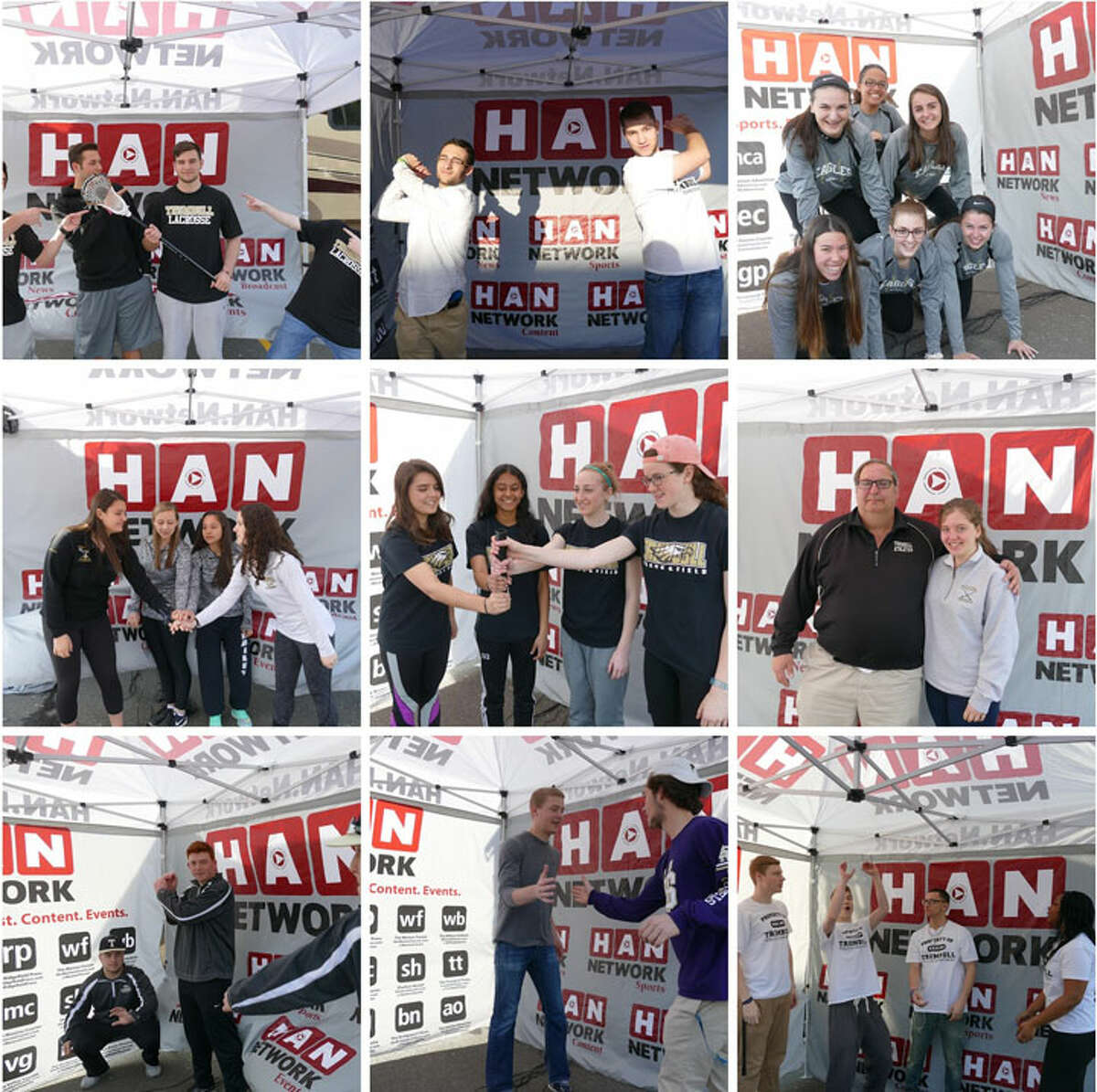 Trumbull High School spring sports captains updated the HAN Network on the outlook for the season when the HAN Cruiser made one of 17 stops on the FCIAC Spring Sports Tour.
