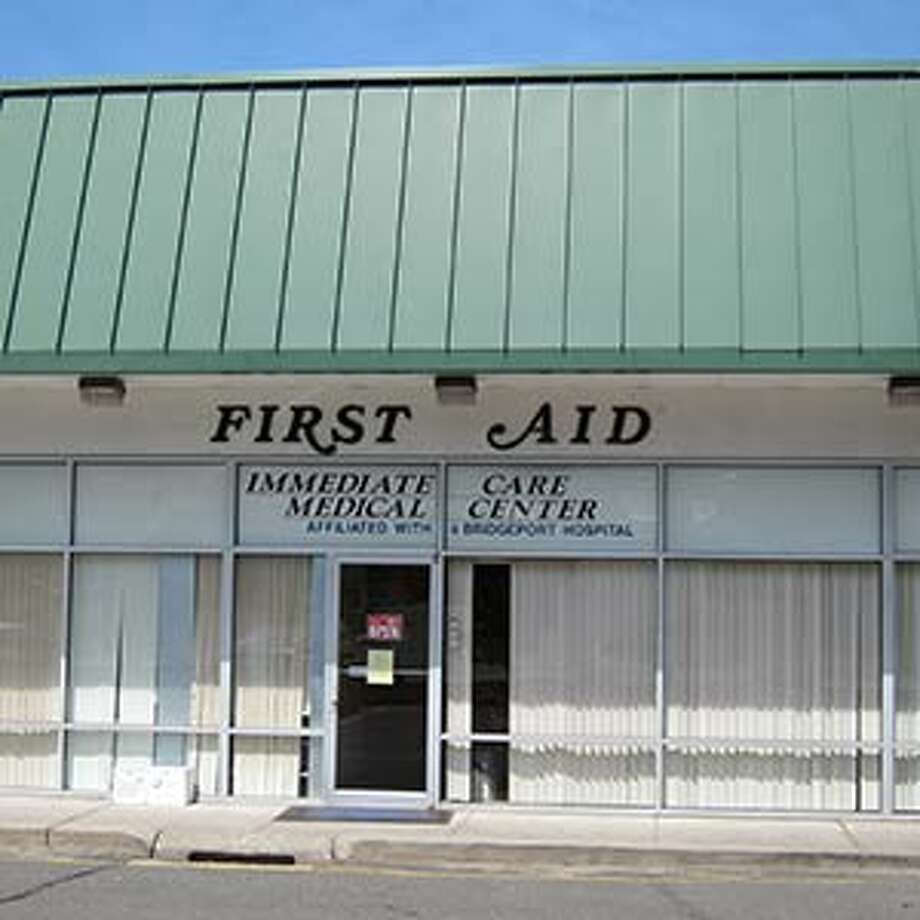 First Aid Immediate Care Medical Center's front door on White Plains Road.