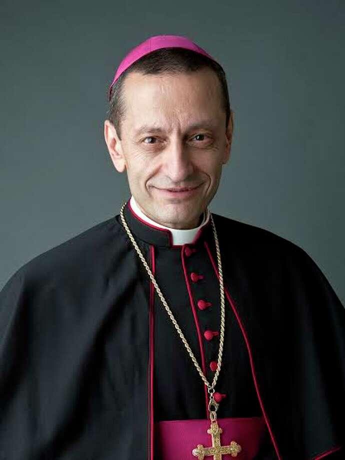 Bishop Frank J. Caggiano of the Diocese of Bridgeport. / Peter Tepper studio