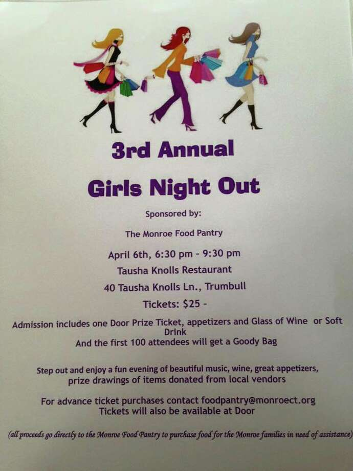 The third annual Girls Night Out poster.