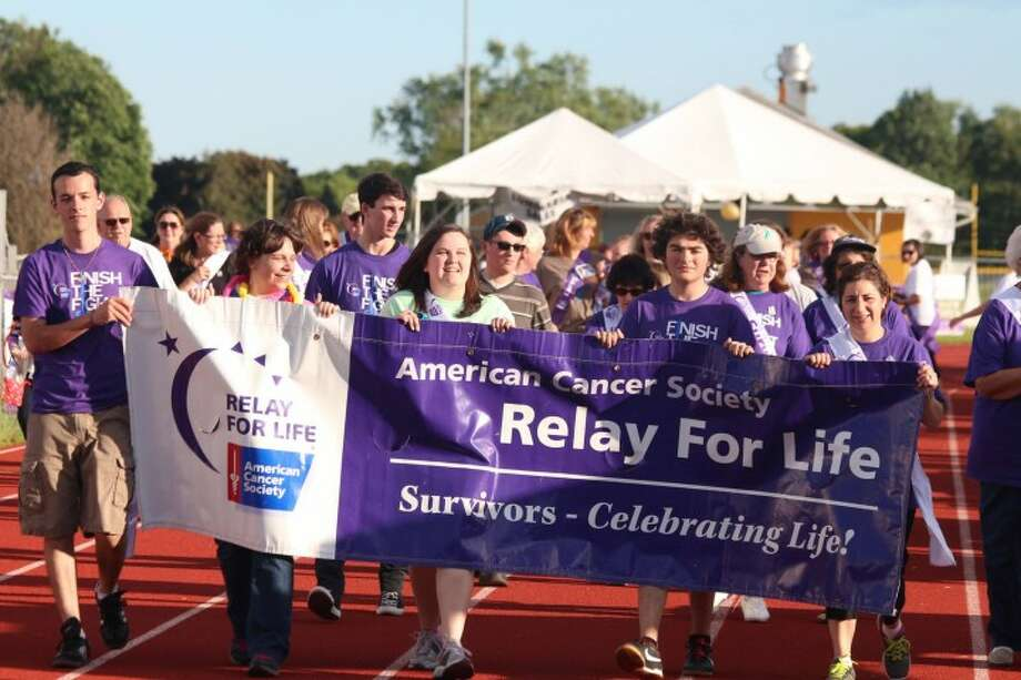 A photo from last year's Relay for Life event at Trumbull High School. — Mark Tibor photo