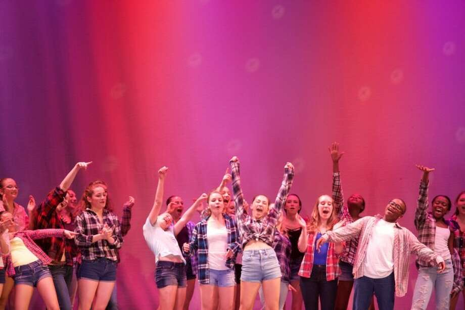 Young performers celebrate at the Performing Arts Center of Connecticut will be holding the 9th annual Steven A. Merrihew Performing Arts Scholarship Benefit Concert last year.