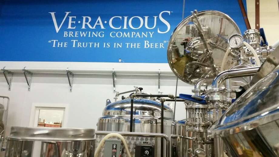 Veracious Brewing Company is located at 246 Main Street, Monroe and is owned and run by Trumbull residents Tess & Mark Szamatulski.