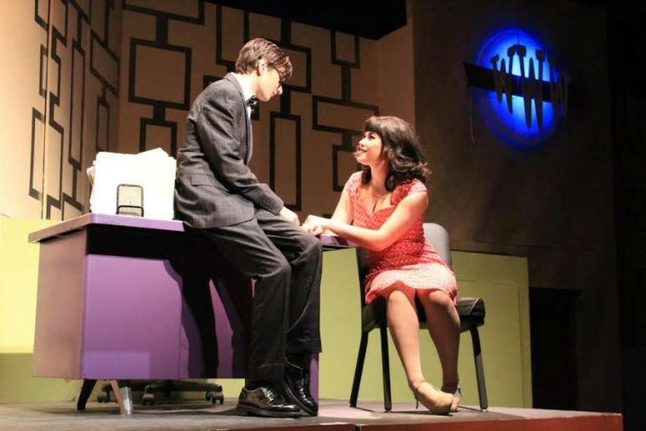 Seniors Michael Lepore and Ava Gallo will take the stage at Trumbull High School's auditorium for the last time this weekend for the theater program's rendition of How to Succeed in Business Without Really Trying. Lepore, a two-time Connecticut High School Music Theater award winner for Outstanding Actor in a Supporting Role, plays the musical's protagonist J. Pierrepont Finch and Gallo plays World Wide Wickets secretary Rosemary Pilkington.