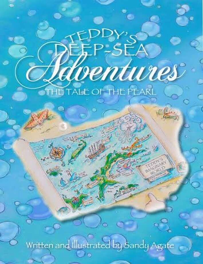 The cover of Teddy's Deep-Sea Adventures: The Tale of the Pearl, which was written and illustrated by Trumbull artist-turned-author Sandy Agate.