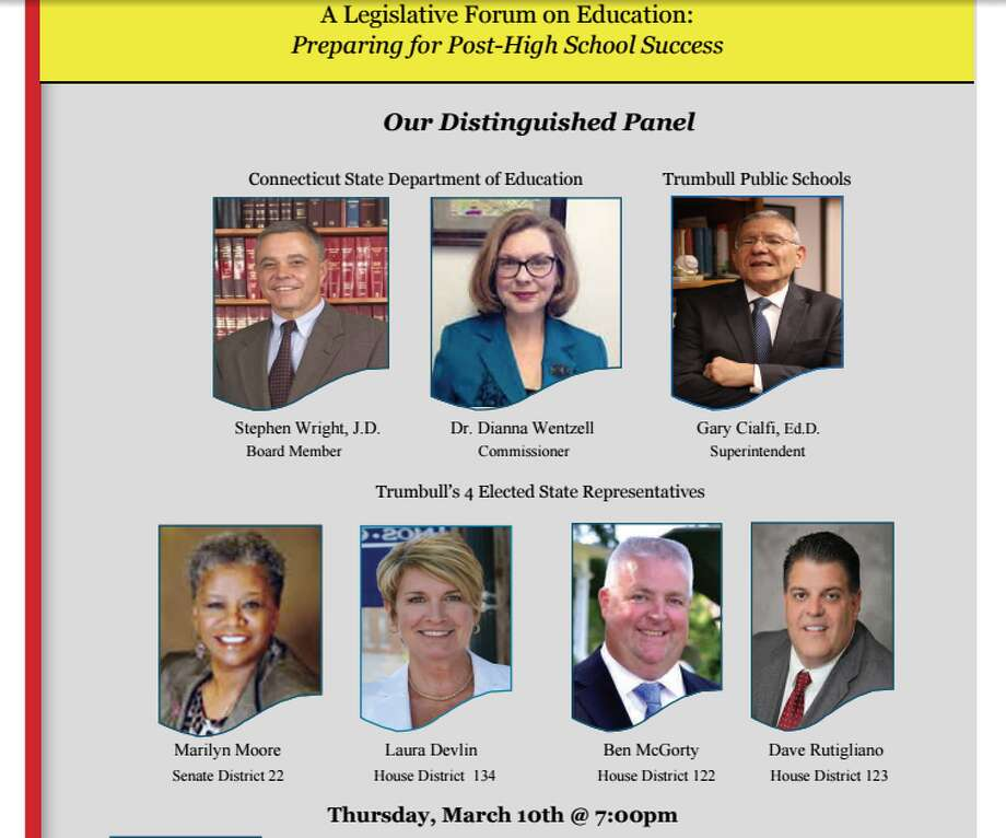 Thursday's BEI panel at the high school features a who's who in Connecticut education.