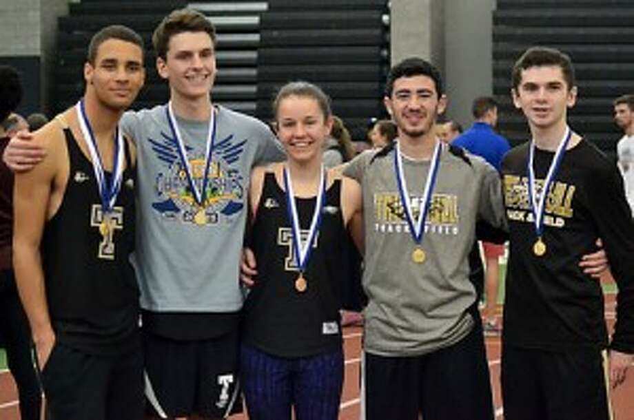 Trumbull High's Tyler Gleen, Taylor Auten, Kate Romanchick, Tyler Rubush and Dylan McEniry all earned berths at the New England Indoor Track and Field Championships in Boston.