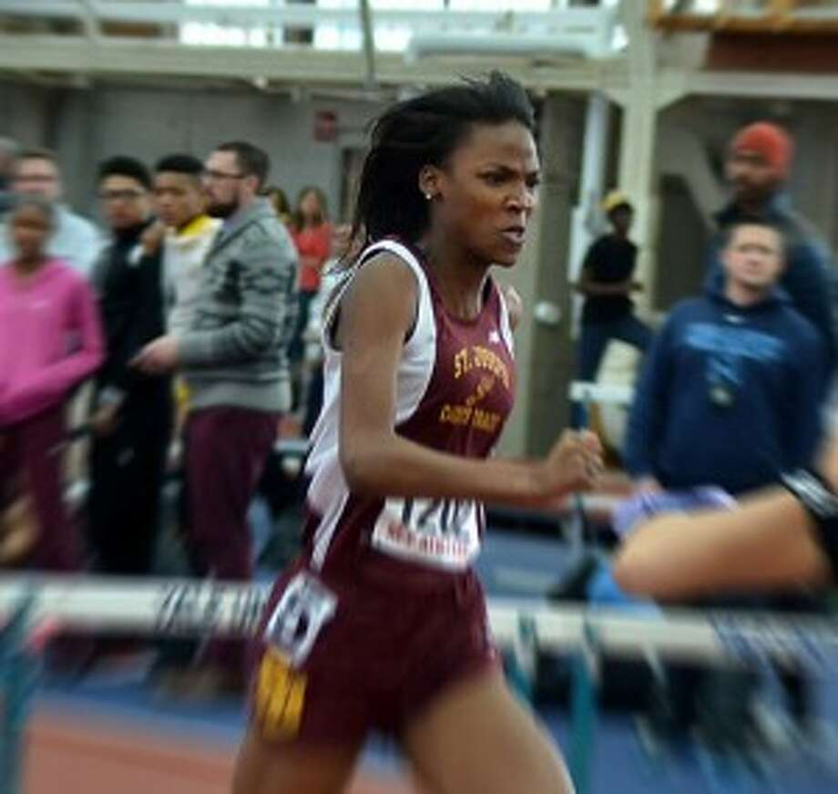 Jada Harris competes at the Yale Classic. — Photo by Lisa Romanchick