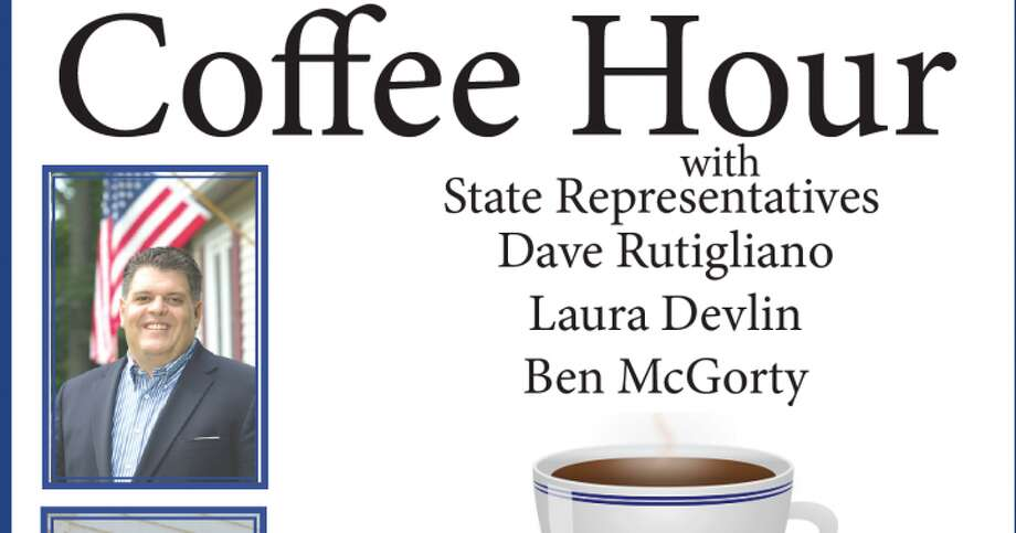 State reps Devlin, Rutigliano, and McGorty will be hosting a coffee hour Saturday, Jan. 23.
