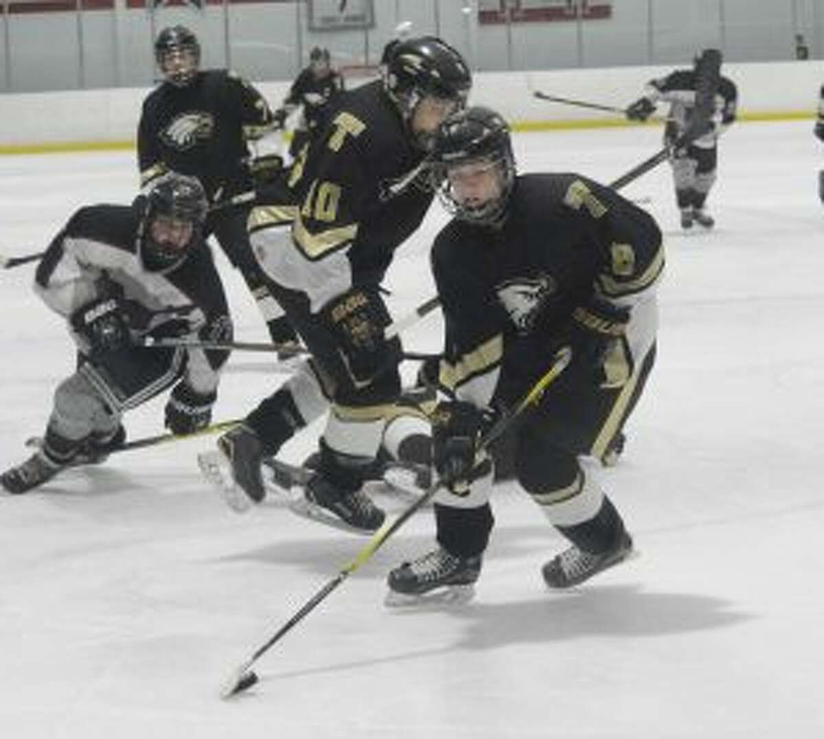 Jack McLean had a goal and assisted on the game-winner for Trumbull.