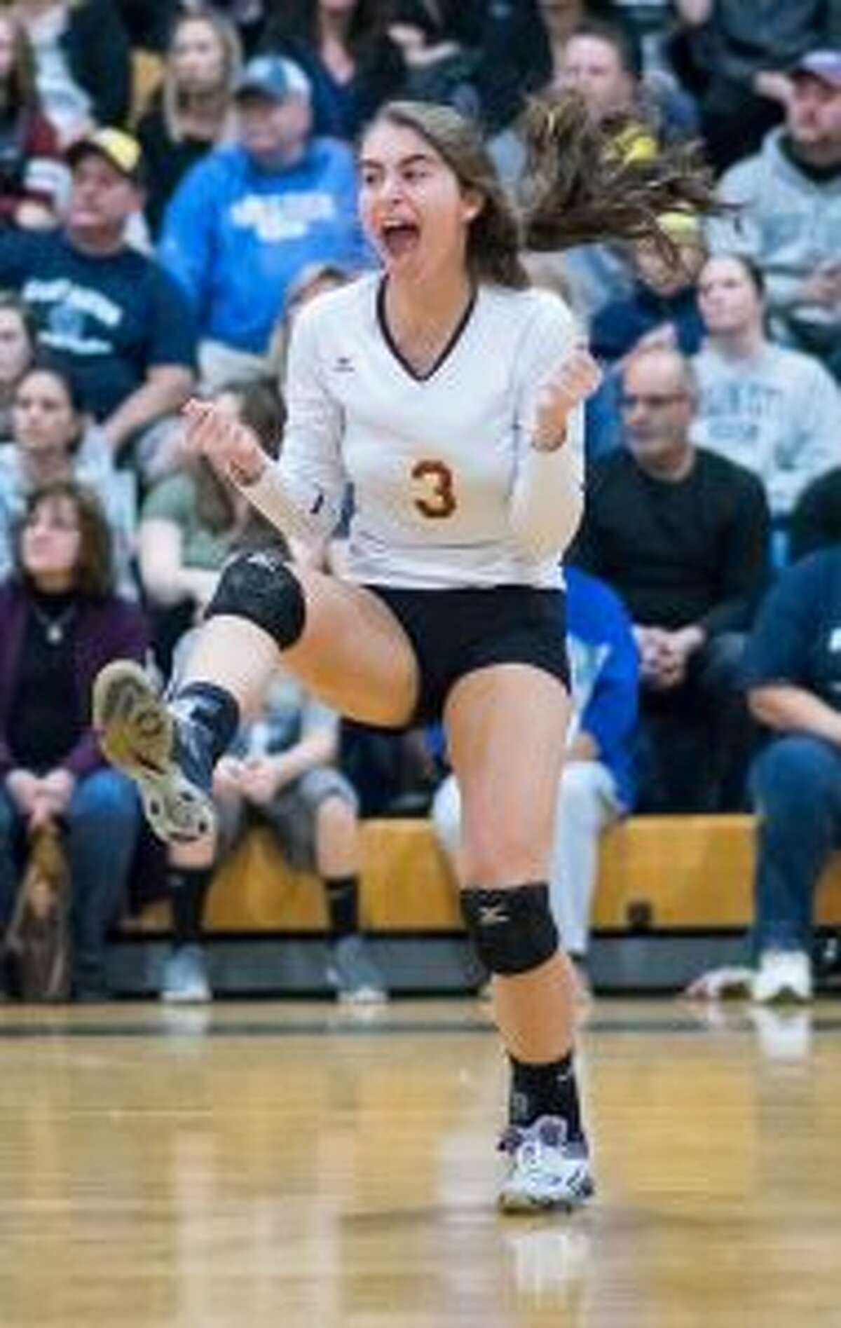 Grace Vocalina had 36 assists in the title match. - David G. Whitham photos