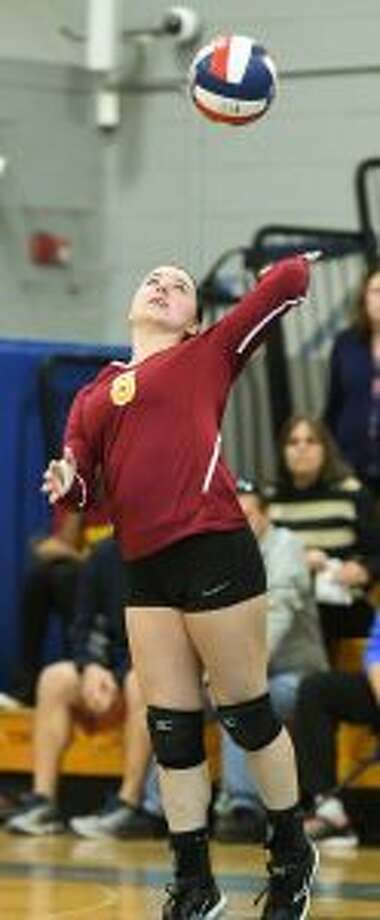 Kaitlin Capobianco was the main culprit for St. Joseph's defense in  limiting point opportunities in the semifinal.