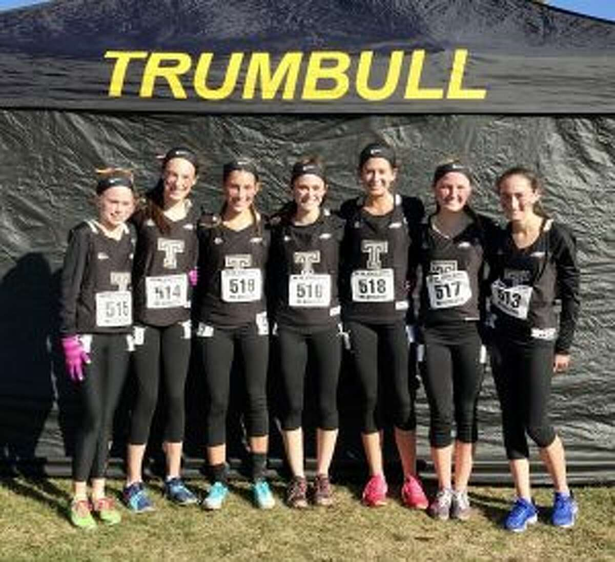 Trumbull finished with 408 points, just behind East Greenwich (R.I.), who had 405. Pinkerton (N.H.) won the meet with 163 points