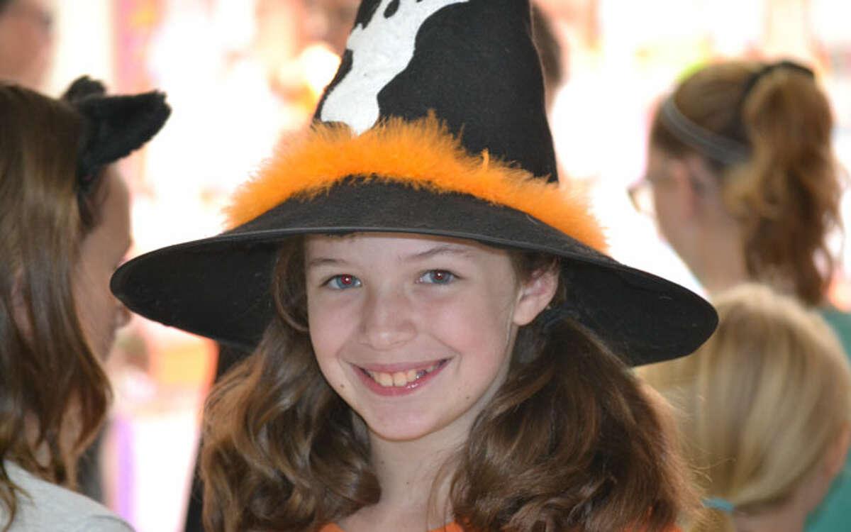 Katie Rhodes enjoyed her last Pumpkin Fair as a Jane Ryan 5th grader.