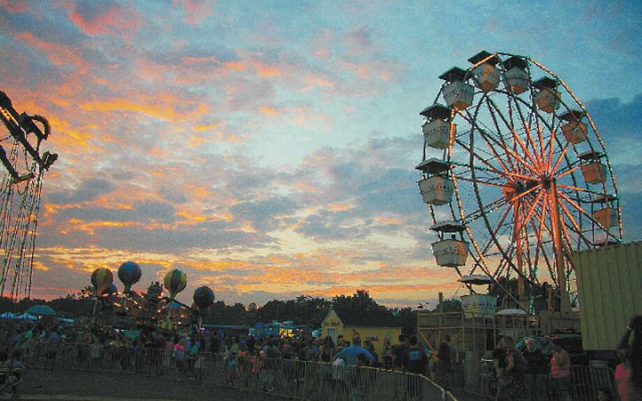 The sun sets over the 2016 Fall Festival. This year's event opens September 8.